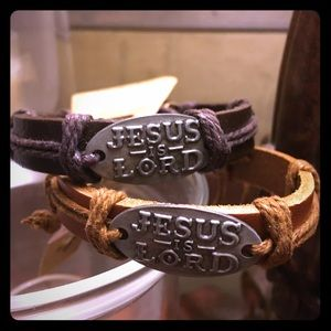 Jesus is Lord bracelet - adjustable